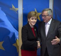 EU's Juncker to meet Scottish leader after UK says leaving EU